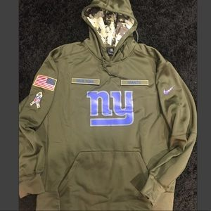 NY Giants Salute to Service hooded sweatshirt